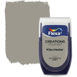 Muurverf Tester Authentic Grey 30 ml