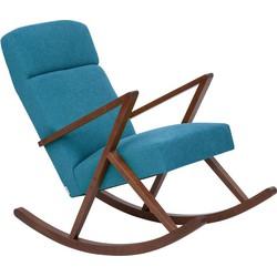 Sternzeit Retro Lounge Schommelstoel Turquoise