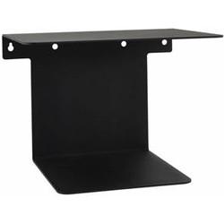 House Doctor Boekenplank zwart staal 32 x 25 x 23 cm