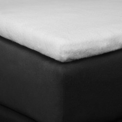 Homecare Molton Topper Stretch Hoeslaken-160 x 200/220 cm