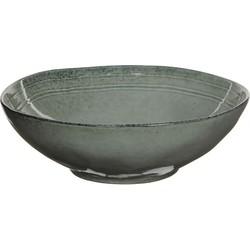 Mica Decorations tabo schaal grijs maat in cm: 7,5 x 23,5