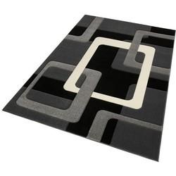 Teppich, my home, »Maxim«, handgearbeiteter Konturenschnitt
