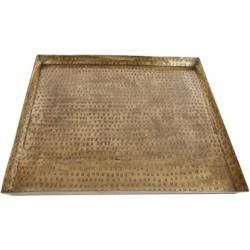 Onderbord vierkant messing 43x43x3 cm