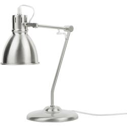 Bureaulamp zilver MONSAN
