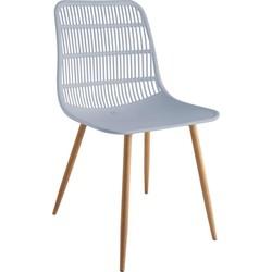 Tamy - Set van 4 stoelen - Grijs