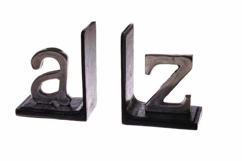 Boekensteun  Flins Zilver  13cm Metaal Glamour -