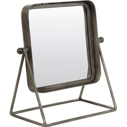 Light&Living Spiegel TAPOE zink 34 x 32 x 18