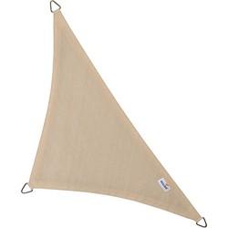 Coolfit schaduwdoek driehoek 90° - 5.0x5.0x7.1m - Gebroken Wit