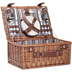 Cosy&Trendy Picknickmand incl servies voor 4 personen