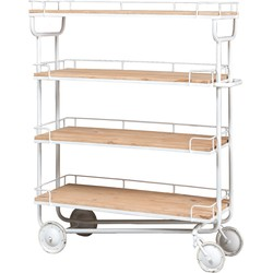 New Routz Trolley Industry large Wit