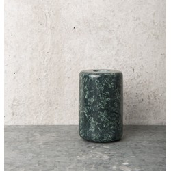 Candle Holder - Marble Green