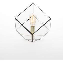 Geometrische lamp Liv van Hart & Ruyt - 15cm - Zwart