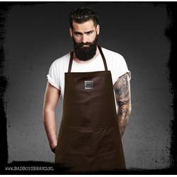 Gladiator Brown Barbecueschort 100% Leer
