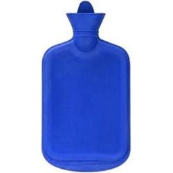 Warm water kruik blauw