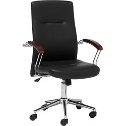 Bureaustoel zwart in hoogte verstelbaar ELECT