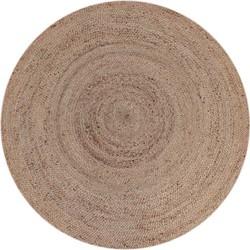 LABEL51 - Vloerkleed Jute 180x180 cm L   - Landelijk - Naturel