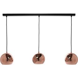 Frandsen Ball Track Pendant - 3 elements - W 100 cm. Copper