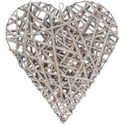 Clayre & Eef Krans hart hangend 61x7x68 cm