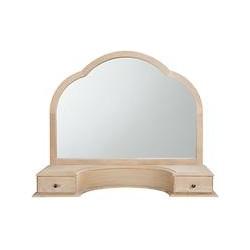 John Lewis Etienne Gallery Mirror, Oak, H68 x W83.5cm