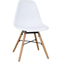Aemely set van 4 stoelen - wit
