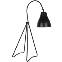 Casa Vivante kiki bureaulamp zwart maat in cm: 20 x 24 x 64