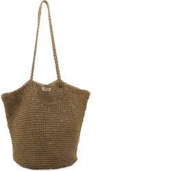 "Monk & Anna ""Tsue straw bag"" shopper - Stro"