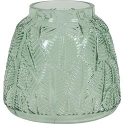 Light&Living Vaas MAZONIA  glas groen 14,5 x Ø11,5