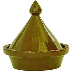 tagine 15 cm olive
