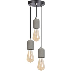 ETH hanglamp Concrete 3 lichts