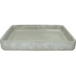 Plate Cement Grey 36cm