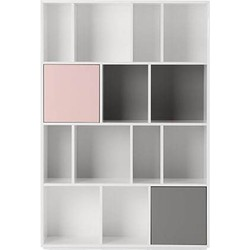 Stretto grote boekenkast, meerkleurig