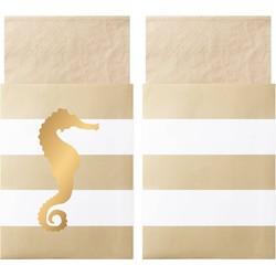 Delight Department  Preppy Seahorse servetten | 20 stuks