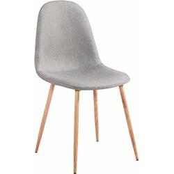 Stockholm stoel - grijs - set van 4