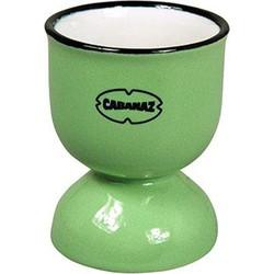 Cabanaz Retro Eierdopje emaille geïnspireerd Vintage Green