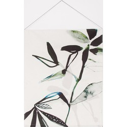 Wall deco cotton - Leaf