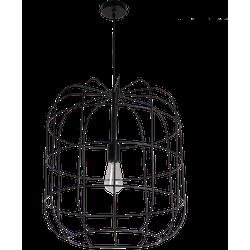 Hanglamp Olaf 50 cm mat zwart