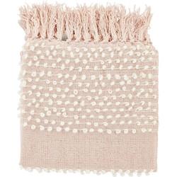 Plaid Tenti 130x180 cm roze