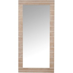Spiegel Langwerpig Hout 120 cm