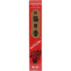 Fine Asianliving Morning Star Japanse Wierook Sandalwood  50st