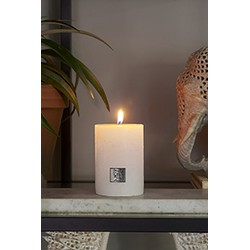 Rivièra Maison Rustic Candle frosted white 7x10 Kaars