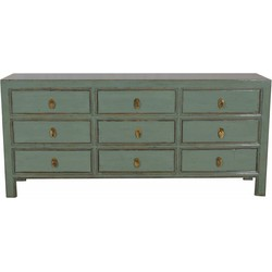Fine Asianliving Chinees Dressoir Met 9 Laden Mint - Beijing, China