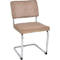 Set van 4 stoelen - Rob - warm grijs