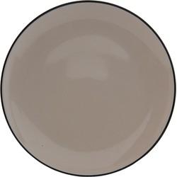 Clayre & Eef Groot bord Ø 26x3 cm
