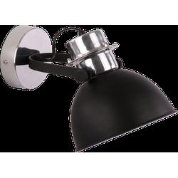 Wandlamp Prato groot Mat Zwart