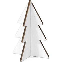 Villa Madelief Kerstboom wit hout 15cm