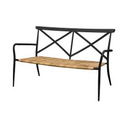 Oseasons Milos Rattan & Aluminium 2 Seater Chair