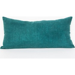Cushion linen comporta - Aqua