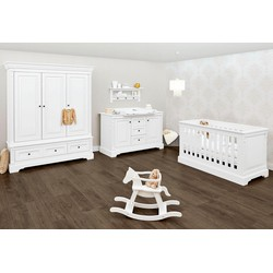 Pinolino Babyzimmer Set Kinderzimmer Emilia extrabreit groß (3-tlg)