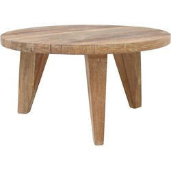 HK-living salontafel reclaimed teak hout 65x65x35,5cm
