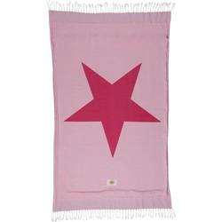 Mycha Ibiza – Strandlaken – strandhanddoek – kikoy – Ibiza ster – roze – 100% katoen – badstof